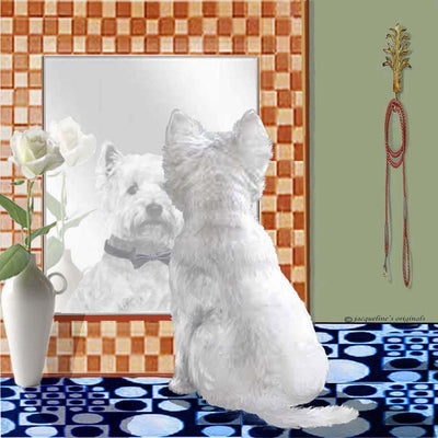 West Highland White Terrier Memory Box