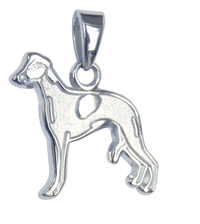 Whippet Charm Jewelry