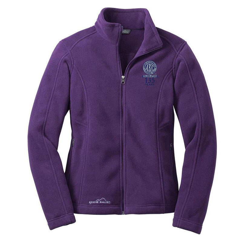 AKC 135th Anniversary Ladies Fleece Jacket