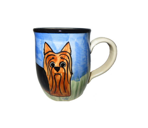 Yorkshire Terrier Hand-Painted Ceramic Mug