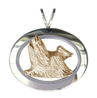 Yorkshire Terrier Sterling & 14k Gold Jewelry