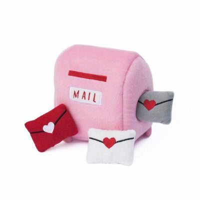 Mailbox and Love Letters Hide-and-Seek Dog Toy