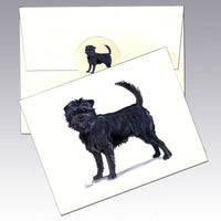 Affenpinscher Note Cards