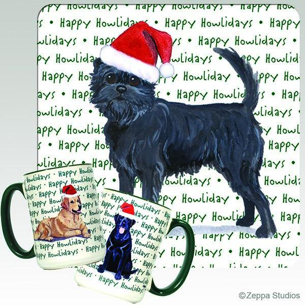 Affenpinscher Holiday Mug
