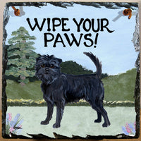 Affenpinscher Slate Sign