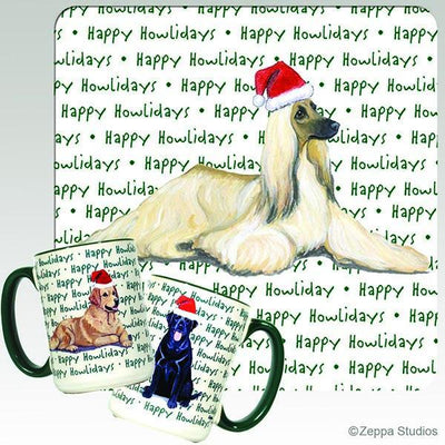 Afghan Hound Holiday Mug