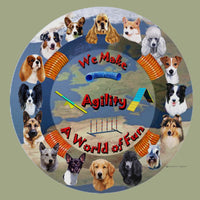 All-Breed Agility Breeds Memory Box