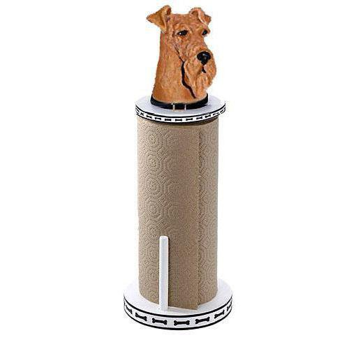 Airedale Terrier Paper Towel Holder