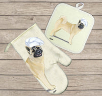 Akita Oven Mitt and Pot Holder