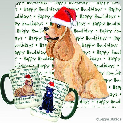 American Cocker Spaniel Holiday Mug