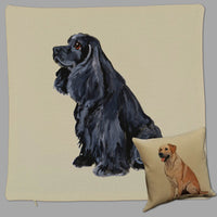 American Cocker Spaniel Pillow Cover