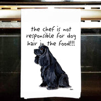 American Cocker Spaniel Tea Towel