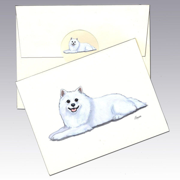American Eskimo Dog Note Cards