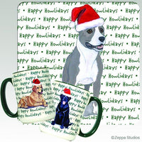 American Staffordshire Terrier Holiday Mug