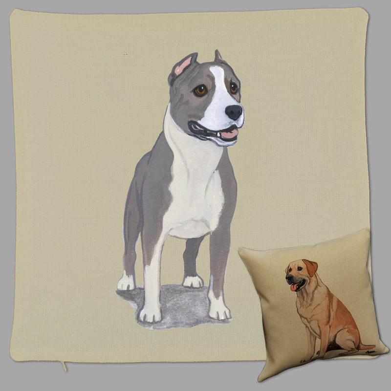 American Staffordshire Terrier Pillow Cover