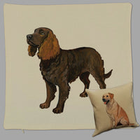 American Water Spaniel Pillow Cover