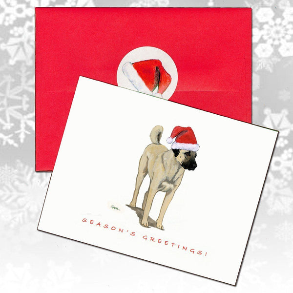 Anatolian Shepherd Dog Christmas Note Cards