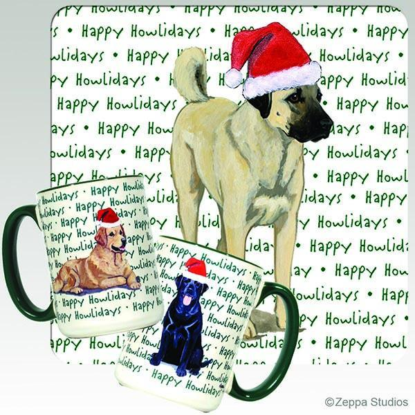 Anatolian Shepherd Dog Holiday Mug