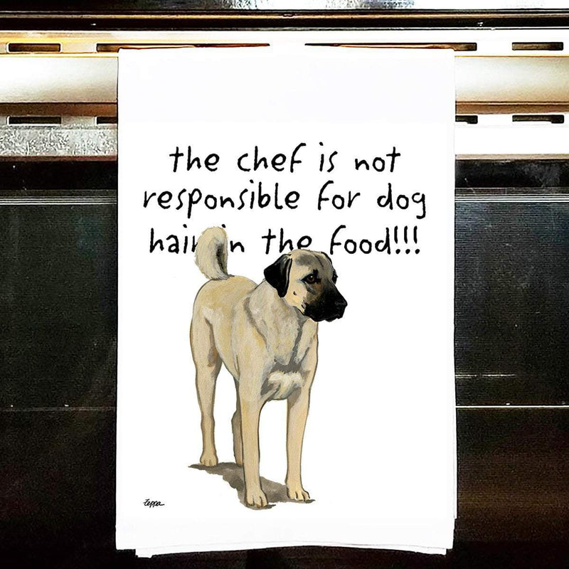 Anatolian Shepherd Dog Tea Towel