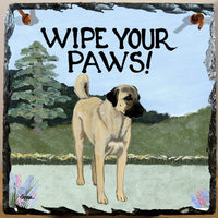 Anatolian Shepherd Dog Slate Sign