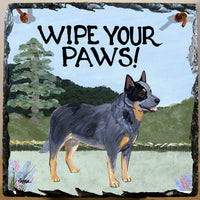 Australian Cattle Dog Slate Sign