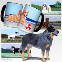Australian Cattle Dog Scenic Mug