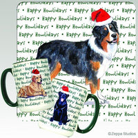 Australian Shepherd Holiday Mug