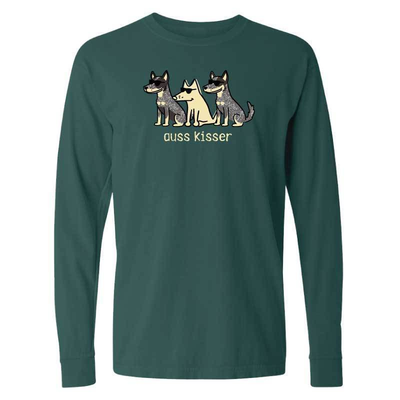 Auss Kisser- Classic Long-Sleeve T-Shirt Classic - Teddy the Dog T-Shirts and Gifts