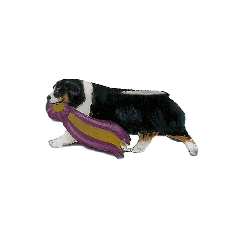 Hand-Painted Australian Shepherd Pin