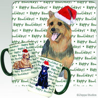 Australian Terrier Holiday Mug
