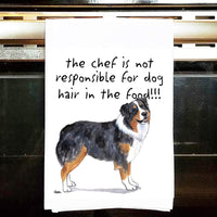 Australian Shepherd Tea Towel