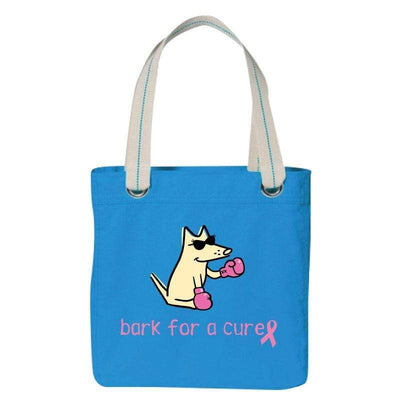 Bark For A Cure - Canvas Tote