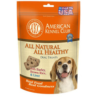 All Natural Barley, Brown Rice and Beef Liver Dog Biscuits