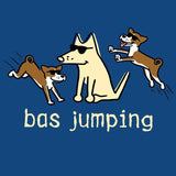 Bas Jumping - Ladies T-Shirt V-Neck