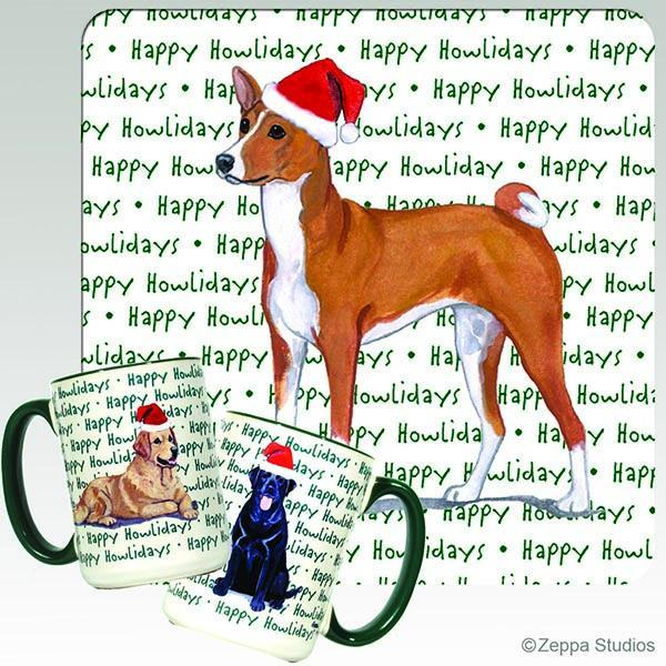 Basenji Holiday Mug