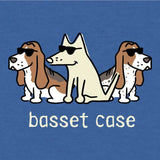 Basset Case - Lightweight Tee - Teddy the Dog T-Shirts and Gifts