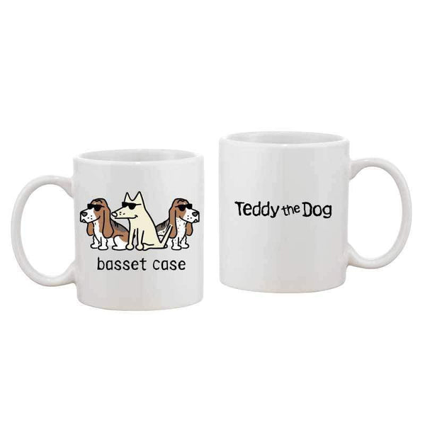 Basset Case - Coffee Mug - Teddy the Dog T-Shirts and Gifts
