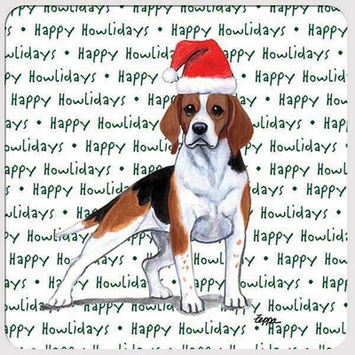 "Beagle ""Happy Howlidays"" Coaster"