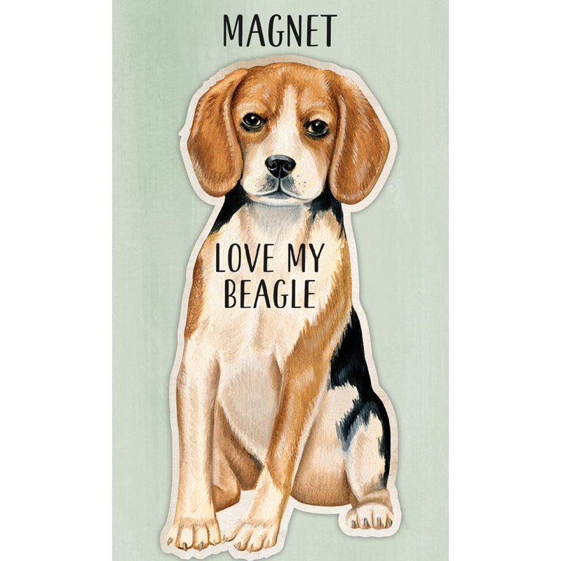 I Love My Beagle Magnet