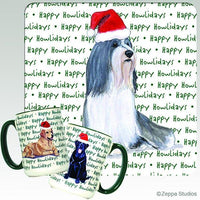 Bearded Collie Holiday Mug