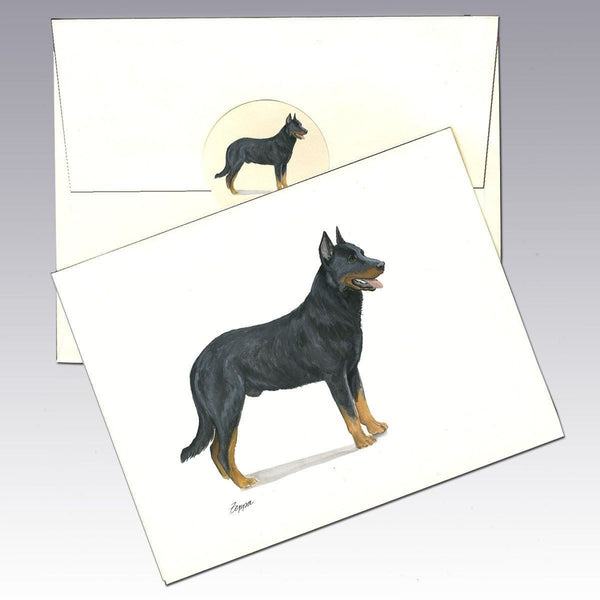 Beauceron Note Cards