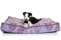 Outback Tails Rectangle Dog Bed