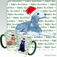 Bedlington Terrier Holiday Mug