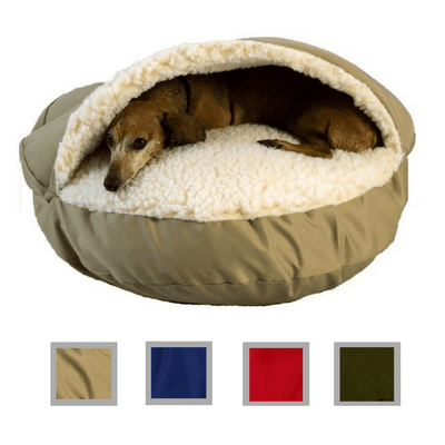 Orthopedic Cozy Cave Dog Bed
