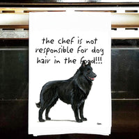 Belgian Sheepdog Tea Towel