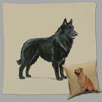 Belgian Sheepdog Pillow Cover