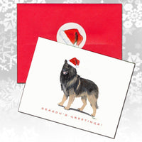 Belgian Tervuren Christmas Note Cards
