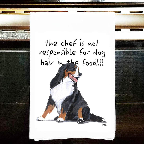 Bernese Mountain Dog Tea Towel