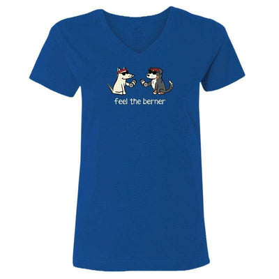 Feel The Berner - Ladies T-Shirt V-Neck