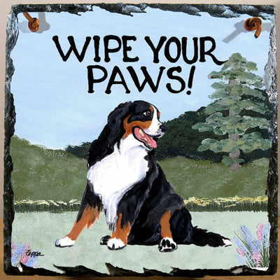 Bernese Mountain Dog Slate Sign